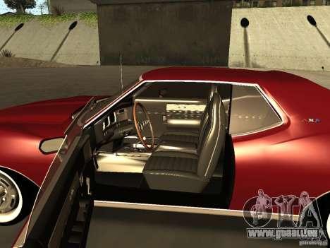 AMC AMX Stock pour GTA San Andreas sur la vue arrière gauche