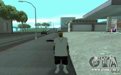 Nouveaux skins Los Santos Vagos pour GTA San Andreas cinquième écran