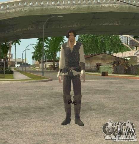Assassins skins pour GTA San Andreas deuxième écran