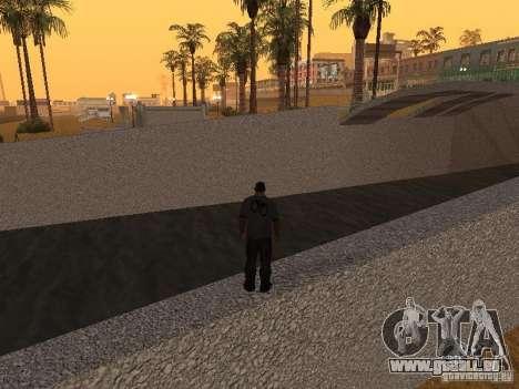 HD Santa Maria Beach pour GTA San Andreas sixième écran