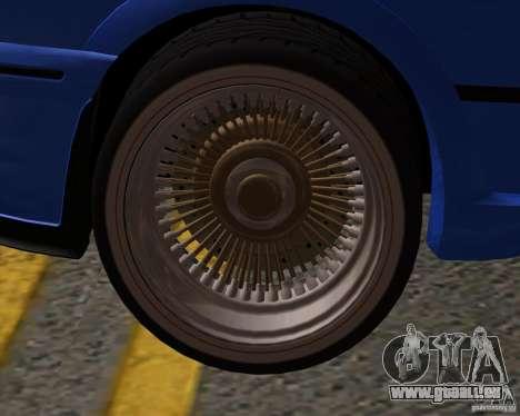 Z-s wheel pack pour GTA San Andreas troisième écran