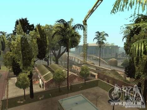 Service de voiture environ Groove v1.5 pour GTA San Andreas quatrième écran