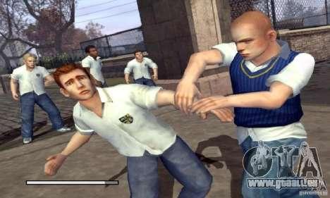 Botte clipart Bully Scholarship Edition pour GTA San Andreas deuxième écran
