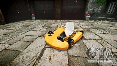 Karting für GTA 4 rechte Ansicht