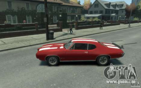 Pontiac GTO Hardtop 1968 v1 pour GTA 4 est une gauche