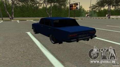 Moskvich 2140 pour GTA San Andreas laissé vue