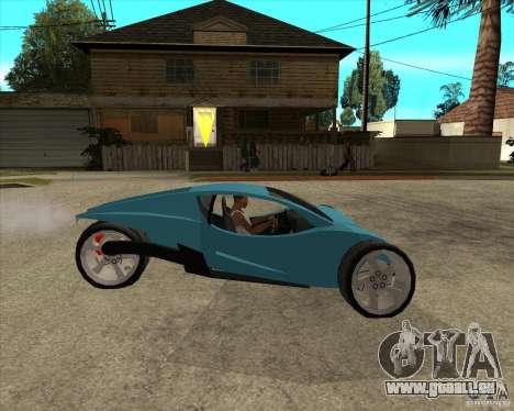 AP3 cobra pour GTA San Andreas vue de droite