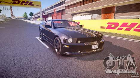 Saleen S281 Extreme Unmarked Police Car - v1.1 für GTA 4 Innenansicht