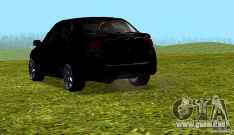 LADA Granta v2.0 pour GTA San Andreas sur la vue arrière gauche