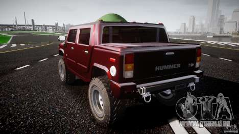 Hummer H2 4x4 OffRoad v.2.0 für GTA 4 hinten links Ansicht