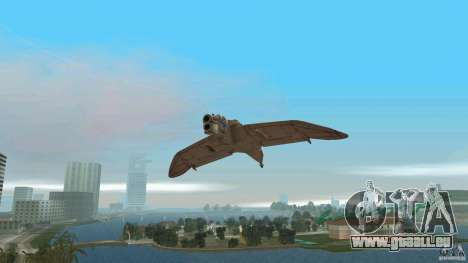 The Valley Gunship pour GTA Vice City