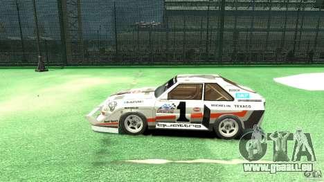 Audi Quattro Group B pour GTA 4 est une gauche