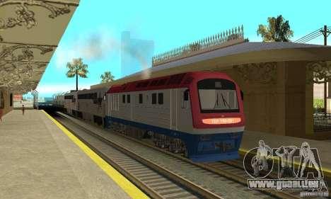 Diesel Lokomotive TÈP150-001 für GTA San Andreas