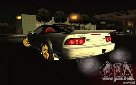 Nissan 240SX X1800 pour GTA San Andreas laissé vue