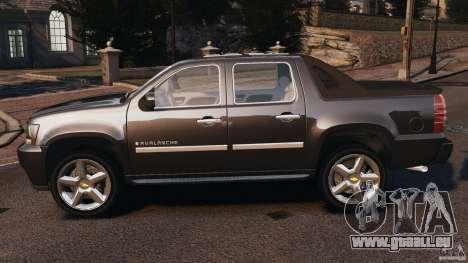 Chevrolet Avalanche Stock [Beta] pour GTA 4 est une gauche