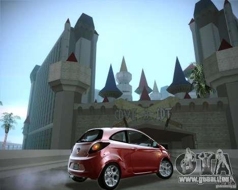 Ford Ka 2011 für GTA San Andreas rechten Ansicht