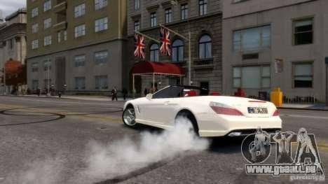 Mercedes-Benz SL 350 2013 v1.0 pour GTA 4 Vue arrière