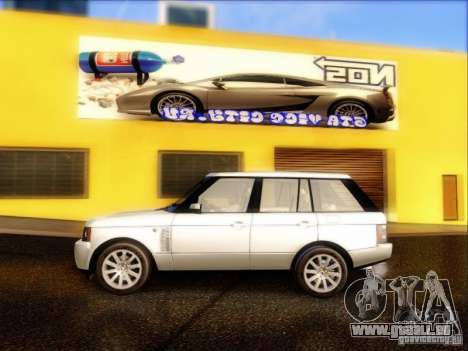 Land-Rover Range Rover Supercharged Series III pour GTA San Andreas laissé vue