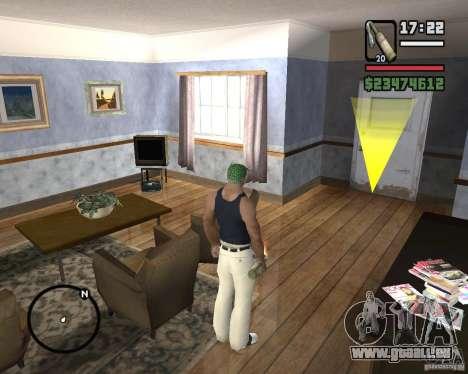 Cocktail Molotov de Mafia 2 pour GTA San Andreas deuxième écran