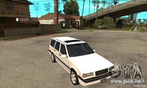 Volvo 850 GLT pour GTA San Andreas vue arrière