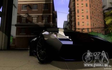 Lamborghini Gallardo Superleggera für GTA San Andreas Seitenansicht