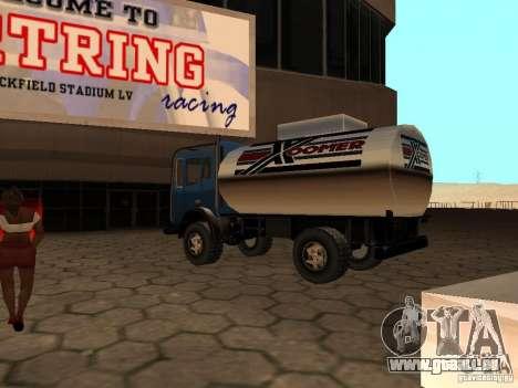 Düne-Tank für GTA San Andreas zurück linke Ansicht