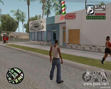 Boutique Ecko pour GTA San Andreas deuxième écran