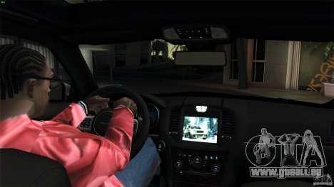 Chrysler 300C V8 Hemi Sedan 2011 für GTA San Andreas Rückansicht