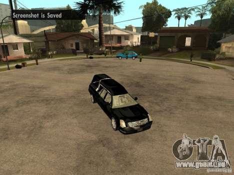 Cadillac DTS 2008 pour GTA San Andreas vue de droite