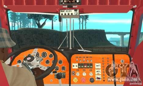 Peterbilt 359 pour GTA San Andreas vue de droite