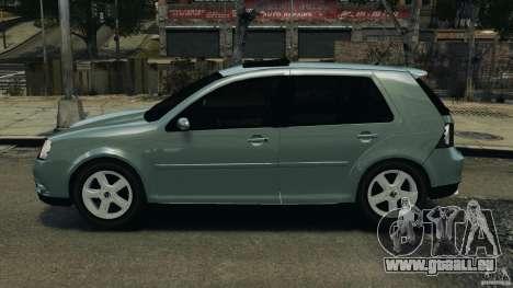 Volkswagen Golf Sportline 2011 für GTA 4 linke Ansicht
