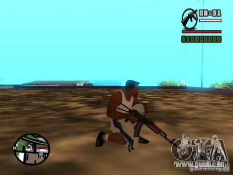 Gangster Weapon Pack für GTA San Andreas sechsten Screenshot