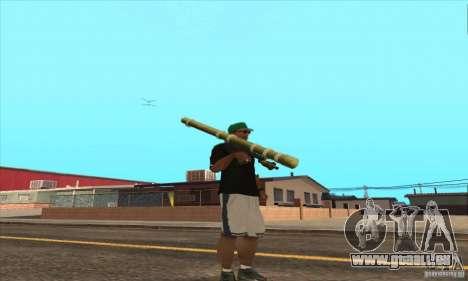 WEAPON BY SWORD pour GTA San Andreas septième écran