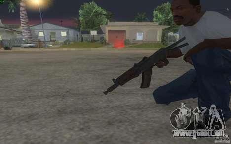 AKS-74U pour GTA San Andreas quatrième écran