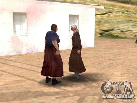 Renouvellement de la v1.0 du village d'Al-Kebrad pour GTA San Andreas quatrième écran