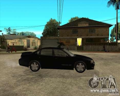2003 Chevrolet Impala SS pour GTA San Andreas vue de droite
