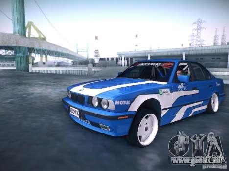 BMW E34 Drift pour GTA San Andreas