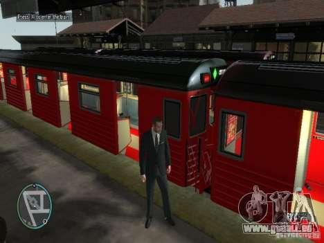 Redbird Zug v1. 0 für GTA 4 Sekunden Bildschirm