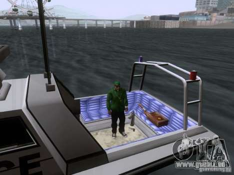 NEW Predator für GTA San Andreas Innenansicht
