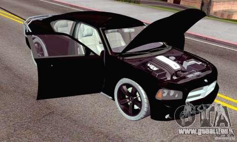 Dodge Charger Fast Five pour GTA San Andreas moteur