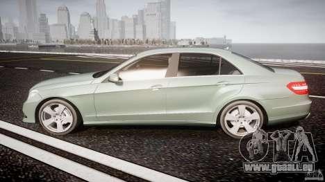 Mercedes-Benz E63 2010 AMG v.1.0 pour GTA 4 est une gauche