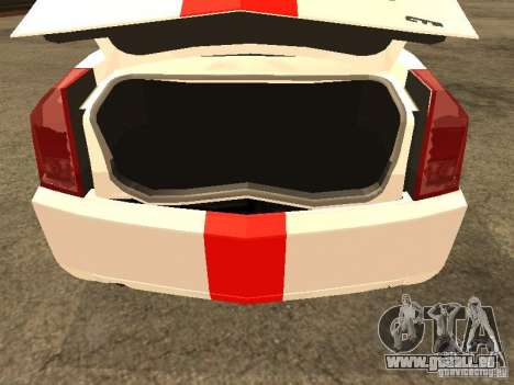 Cadillac CTS 2003 Tunable pour GTA San Andreas vue arrière