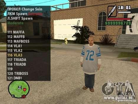 GTA IV peds to SA pack 100 peds für GTA San Andreas