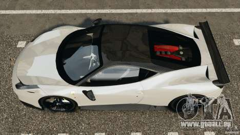 Ferrari 458 Italia 2010 [Key Edition] v1.0 für GTA 4 rechte Ansicht