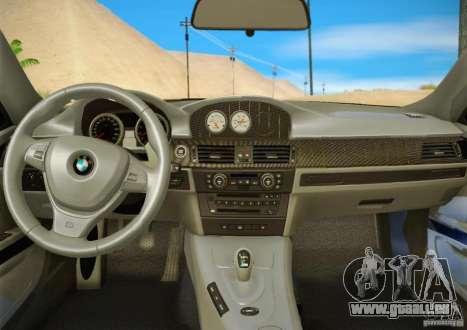 BMW M3 GT-S Final für GTA San Andreas obere Ansicht