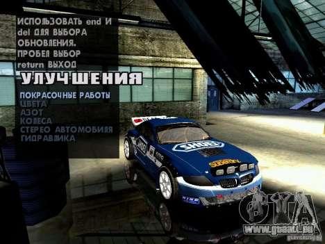 BMW Z4 Rally Cross für GTA San Andreas Seitenansicht