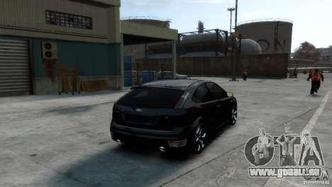 Ford Focus pour GTA 4 est une gauche