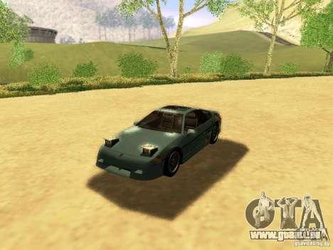 Pontiac Fiero V8 pour GTA San Andreas moteur