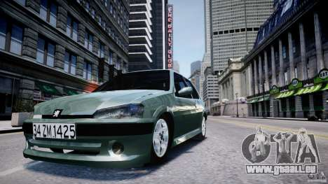 Peugeot 106 Quicksilver pour GTA 4