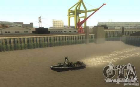 RHIB Boat pour GTA San Andreas